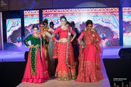 Glimpses Of Being Tusshar Dhaliwal's and Archana Tomar's Mrs India Universe 2017, grand finale at The Castle Mewar Udaipur Rajasthan