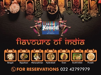 Grand Hometel Malad Is Having its 1st Ever Food Festival – FLAVOURS OF INDIA