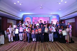 Renowned Journalists Honoured with Indywood Media Excellence Awards 2017 at Hyderabad