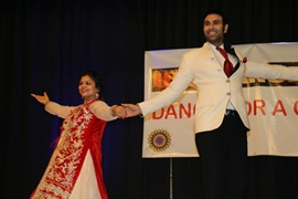 Varsha Naik launches 'USA Dance Day' along with Sandip Soparrkar promoting cause of acid attack