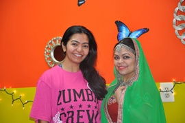 "New Jersey's New Year's Celebration in ""Fitness style with Varsha Naik"