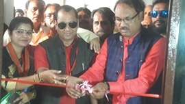 Sanyukt Vikas Party Office Inauguration By Honourable Afroz Khan(National President), Many  Politicians &  Bollywood Celebrities In Gujarat