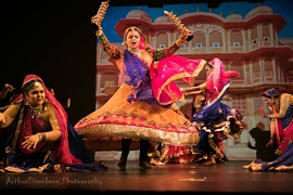 "Varsha Naik represents Indian Culture at ""Dancing in the Spotlight"" in Symphony Space Theatre New York City"