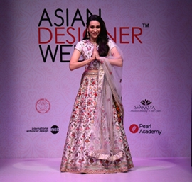 Asian Designer Week: Karisma Kapoor to Chunky Pandey sizzle on Day 1 as ace designers from Asia come under one roof