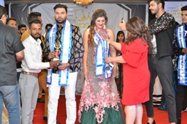 Mr & Miss Glam World Maharashtra 2018 Grand Finale Ajeeb Inamdar & Alisha Jain Declared winners