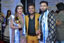 Mr & Miss Glam World Maharashtra 2018 Grand Finale Akeeb Inamdar & Alisha Jain Declared winners