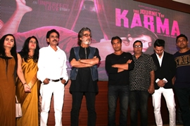 Rakesh Sabharwal  Line Producer & Project Designer's  Latest Venture The Journey of Karma Teaser and Motion Poster Launched In Mumbai