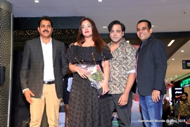 ROCKING FASHION NITE POOJA MISRRA, MYRRA & YASH WADALI AT NVU STORE LAUNCH