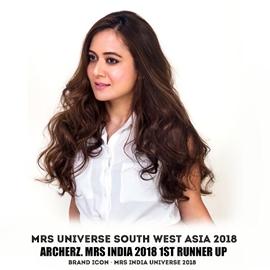TANVI SHAH GUPTA South West Asia Universe 2018