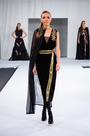 Nikita Nayak Showcases Her Collection At International Fashion Week