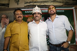 Sanyukt Vikas Party's Anthem Song Record At Lata Mangeshkar Studios