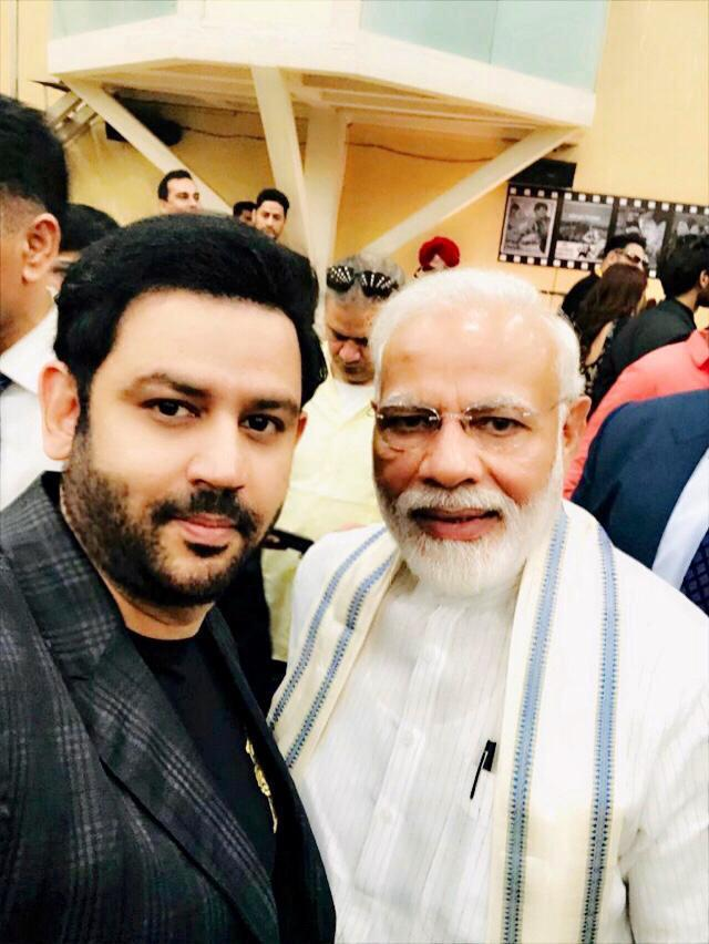 Ajay Kapoor, Managing Director Kyta Productions Meet Narendra Modi Ji