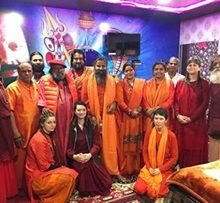 Film Artistes & Celebrities Visits At Mahayogi Mahamandleshwar Shree Pilotbaba's Aakhada  For 12 Day Programme For World Peace