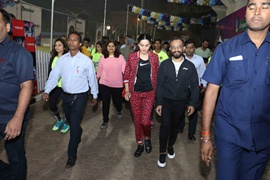 Actress Tapsee Pannu Flagged Off GSC's Awarathon on World Cancer Day