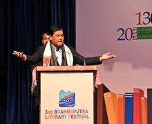 Chief Minister of Assam Sarbananda Sonowal Inaugurated The 3rd Brahmaputra Literally Festival in Guwahati