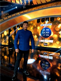 Singer Hrishikesh Chury's Hat-Trick On Saregamapa