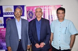 Producer Shyam Singhaniya's Film Maritime Mumbai An Odyssey Special Sceening And Press Conference