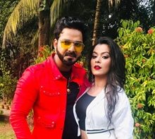 Once Again in Pawan Singh and Nidhi Jha's Superhit Pair In  Crack Fighter