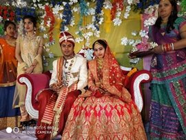Sarvesh Kashyap PRO Of Popular Channel Mahua Plus  Ties Knot With Shweta