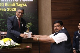 10 crore trees to be planted in a year across the nation 108000 Kundiya Yagya to be held in February 2020
