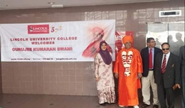 ONE MORE FEATHER IN THE ALREADY DECORATED CAP OF GURJEE KUMARAN SWAMI JI BY RECEIVING COVETED DOCTARATE DEGREE FROM MALAYSIAN UNIVERSITY