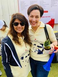 Dr. Sunita Dube Supports Terry Fox Run For Cancer Treatment