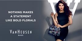 Van Heusen Unveils Jacqueline Fernandez As The Face For VH Women's Handbags Segment