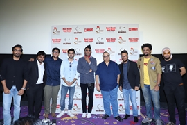 Short Film Raat Baaki Baat Baaki Special Screen Held In Mumbai With Chief Guests Jacki Shroff & Rajkumar Santoshi