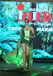 A Fashionably Forward Extravaganza! Designer Students Of INIFD Borivali Showcase  Their Designs At Layer'M  2019