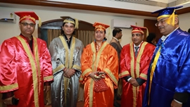 National American University's Third Golden Star Award By Dr. Abhiram Kulshreshtha