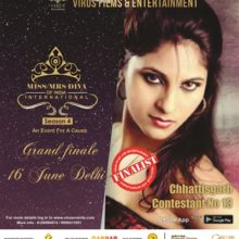 Rakhi Singh Emerges As Finalist For Miss-Mrs. Diva Of India International Season 4 Finale