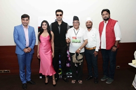 Actor Gavie Chahal Starer Yeh Hai India  Hindi Films Trailer Launched
