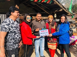 KASHMIR DHARA 370  Films SHOOTING  COMPLETED A film by Subharti Media Pvt Ltd