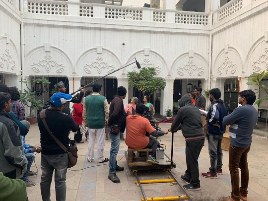 Arya Films Upcoming Hindi Film Doordarshan Shooting In Progress In Mumbai