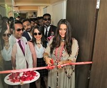 Neha Dhupia Launches Assure Clinic In Ahmedabad