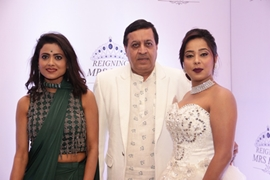 Grand Successful Finale of Monica Shaikh's REIGNING MRS INDIA 2019  At Hotel Orchid In Pune