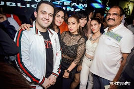 BLOW OUT THE CANDLES – BIRTHDAY BASH OF AQUIB KHAN Partner at Jhatka & Yeda Republic Juhu
