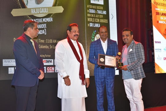 Raju Gauli Awarded For Cinematography