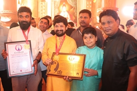 World Record India – The Team Gave A Record To Two Ganpati Pandals