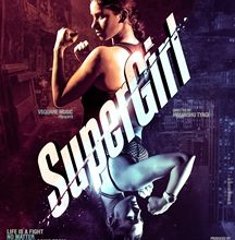 First  Look Poster Out  Super Girl  Monika Chaudhary And Shaila Tike