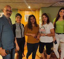 Writer Director Alok Shrivastava's  Film Miss Masala Dosa First Song Recorded In Mumbai