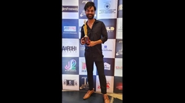 Yuvraaj Parshar received best director award at Global Taj International Film Festival