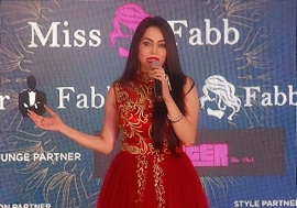 CONGRATULATIONS TO NIKITA RAWAL AS A CELEBRITY JUDGE IN MR N MRS FABB INDORE
