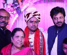 Amidst splendor Patna witnesses a grand wedding of PRO Sanjay Bhushan Patiyala, Bhojiwood compliments it with large heartedness