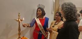 Dr  Naavnidhi K Wadhwa Inaugurates Tabassum Art Exhibition Nostalgia