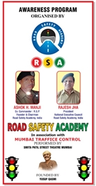 Smita Patil Street Theatre Celebrate Road Safety Week In Mumbai & Gujarat