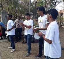 Smita Patil Street Theatre And Lions Club Celebrated Road Safety Week