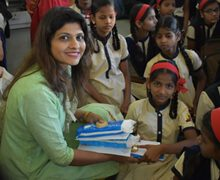 WEE-Pune Head Sanchali Iyer Organized WEE-Clean Donation Drive