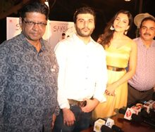 C. R. Films Presents POSTER  LAUNCH of  HINDI FILM SAKSHI