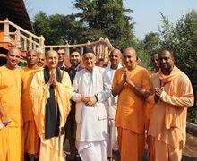 Governor of Maharashtra Inaugurates the Incubation Centre at Govardhan Eco Village